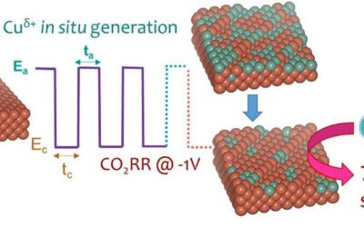 Simultaneously tuning the surface structure and oxidation state of copper catalysts