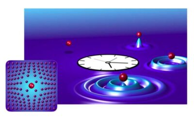 Observing the birth of a quasiparticle