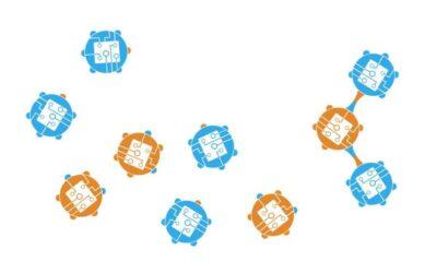 MOBLOT: A theoretical model that describes molecular oblivious robots