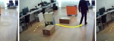 A framework for robot path finding in unstructured environments